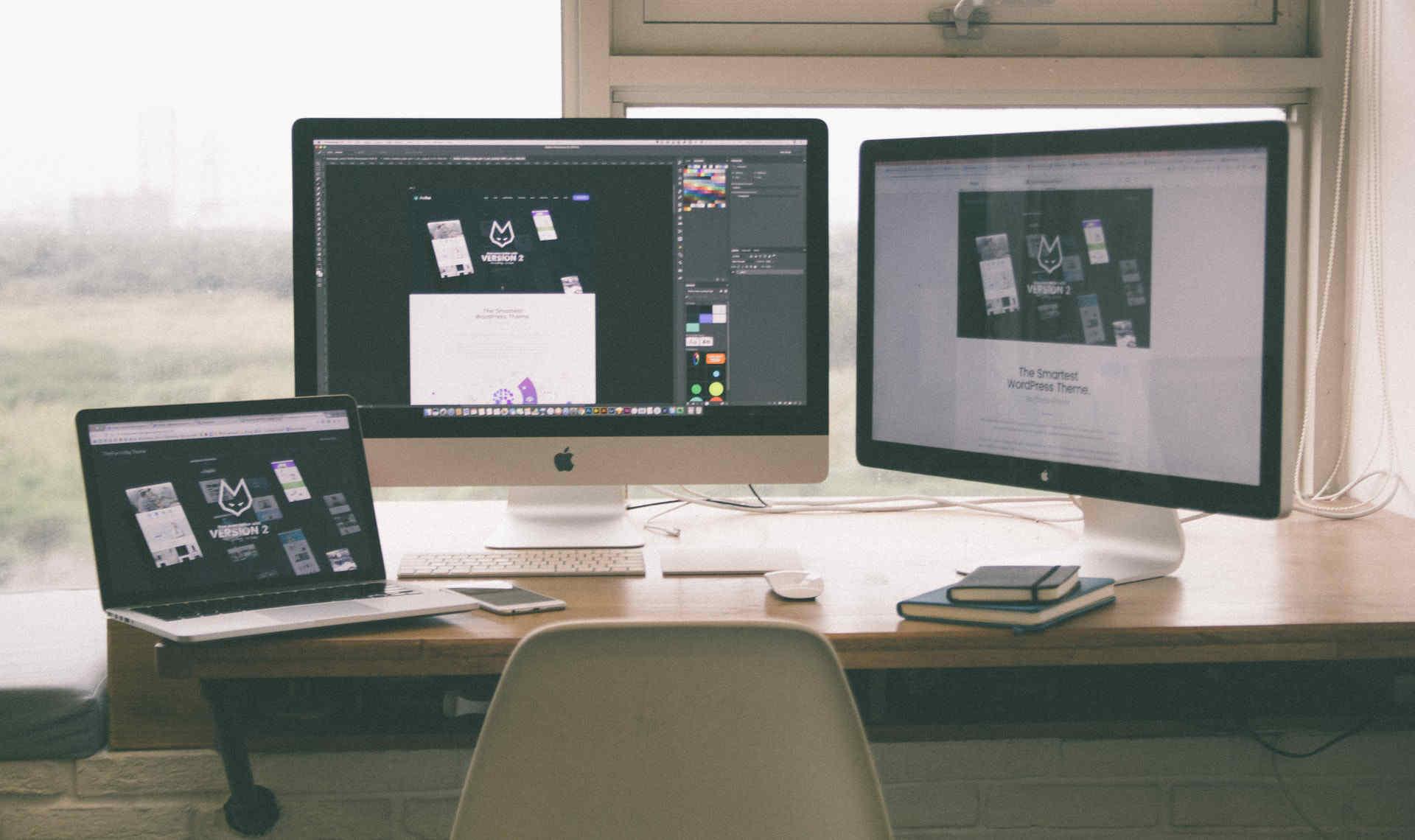 Designa webbsida